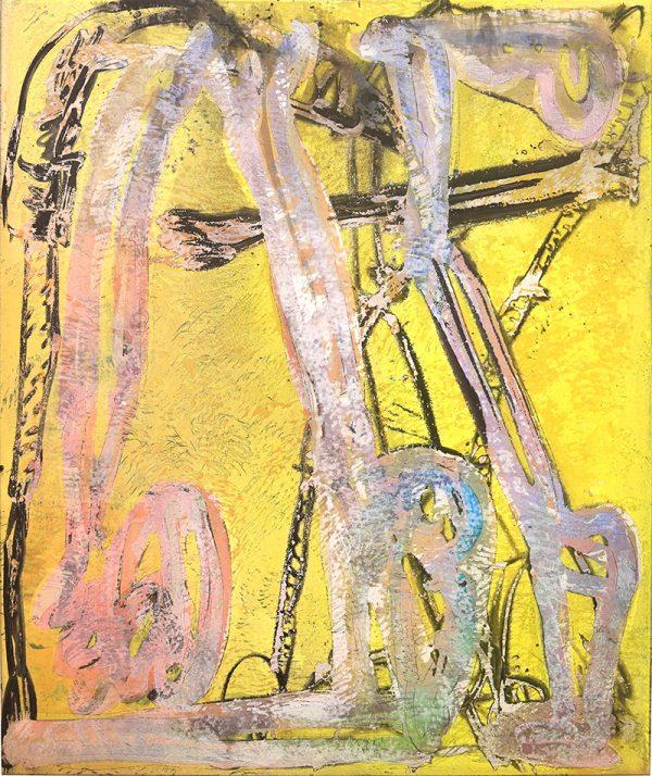 Rudi Ninov. Untitled (neither a Paracas nor a Sacramento painting), 2019