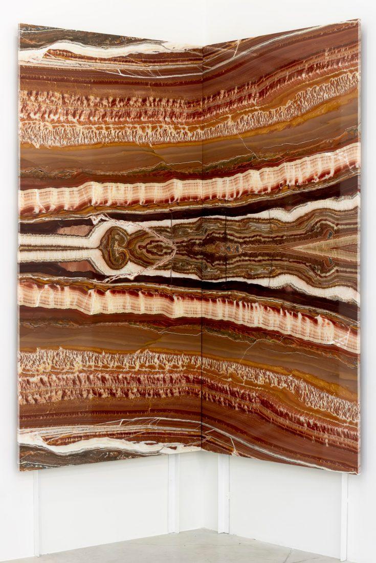 Madre Terra, 2019, ониксов мрамор, 220 х 200 см