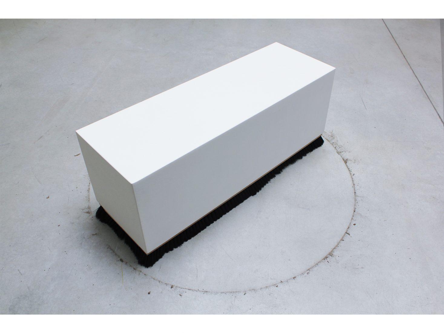 Michail Michailov. Pedestal #1, 2020, object, 48x120x40 cm