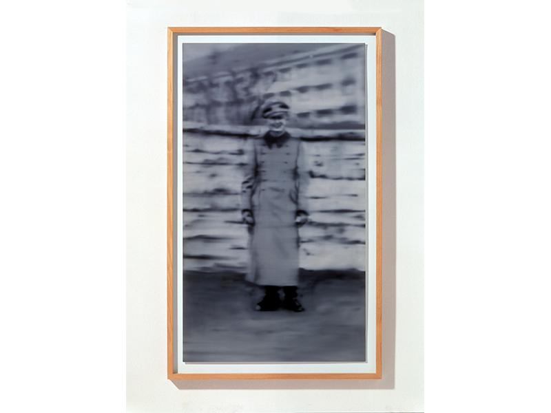 Gerhard Richter. Uncle Rudi, 2000, Cibachrome, 87 x 50, Photo: Friedrich Rosenstiel, © Gerhard Richter