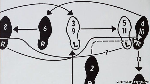 Andy Warhol. Dance diagram