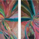 Щях да се разстроя, 2015, маслени бои, платно, 220 х 200 см