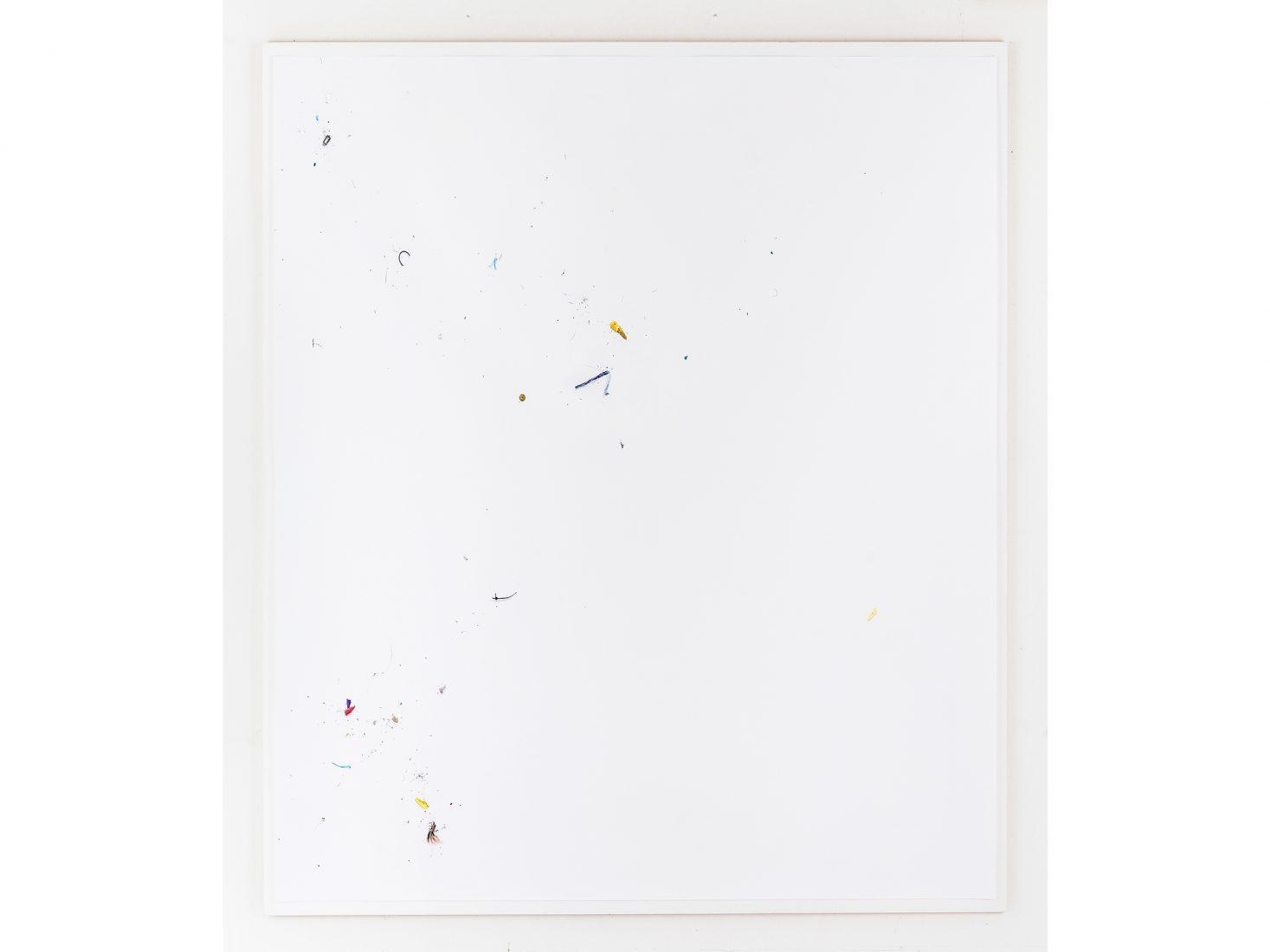 Michail Michailov. Dust to Dust#101, 2020, coloured pencil on paper, 138x138 cm