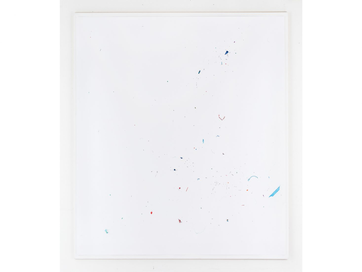 Michail Michailov. Dust to Dust#107, 2020, coloured pencil on paper, 138x138 cm