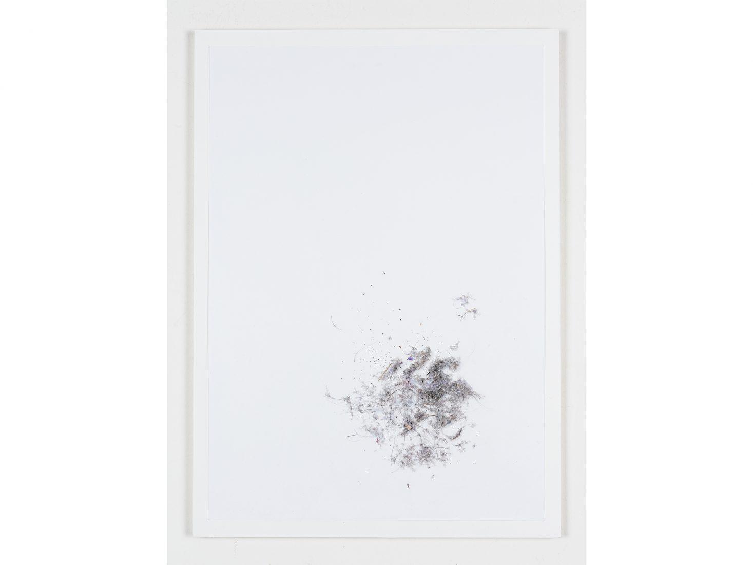 Michail Michailov. Dust to Dust#96, 2020, coloured pencil on paper, 64x46 cm