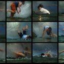 Салът на Медуза, 2011, архивен отпечатък върху хартия, 12 части, 24 x 30 cм всяка