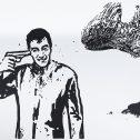 Big size drawings, 2011-2016, акрил, хартия, 110 х 150 см