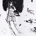 Big size drawings, 2011-2016, акрил, хартия, 150 х 220 см