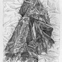 Без заглавие III, 2019, рисунка с молив, 110х75 см