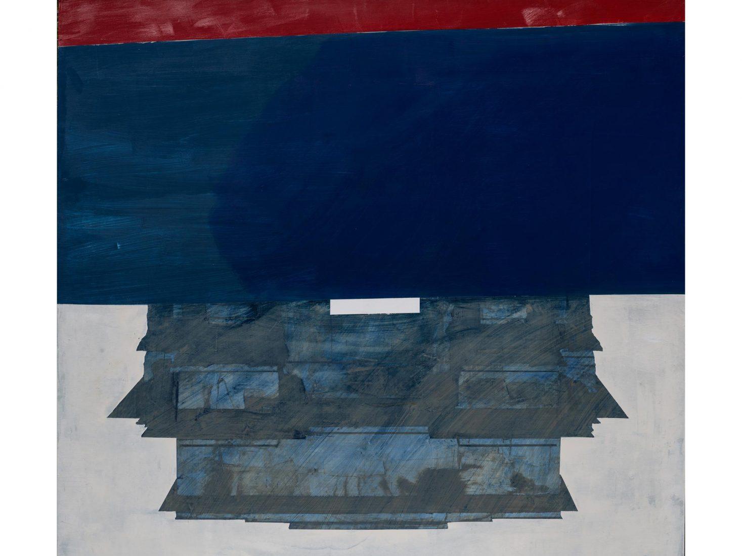 Иво Бистрички. Китай, 2020-21, акрил,платно, 180x180x3 см
