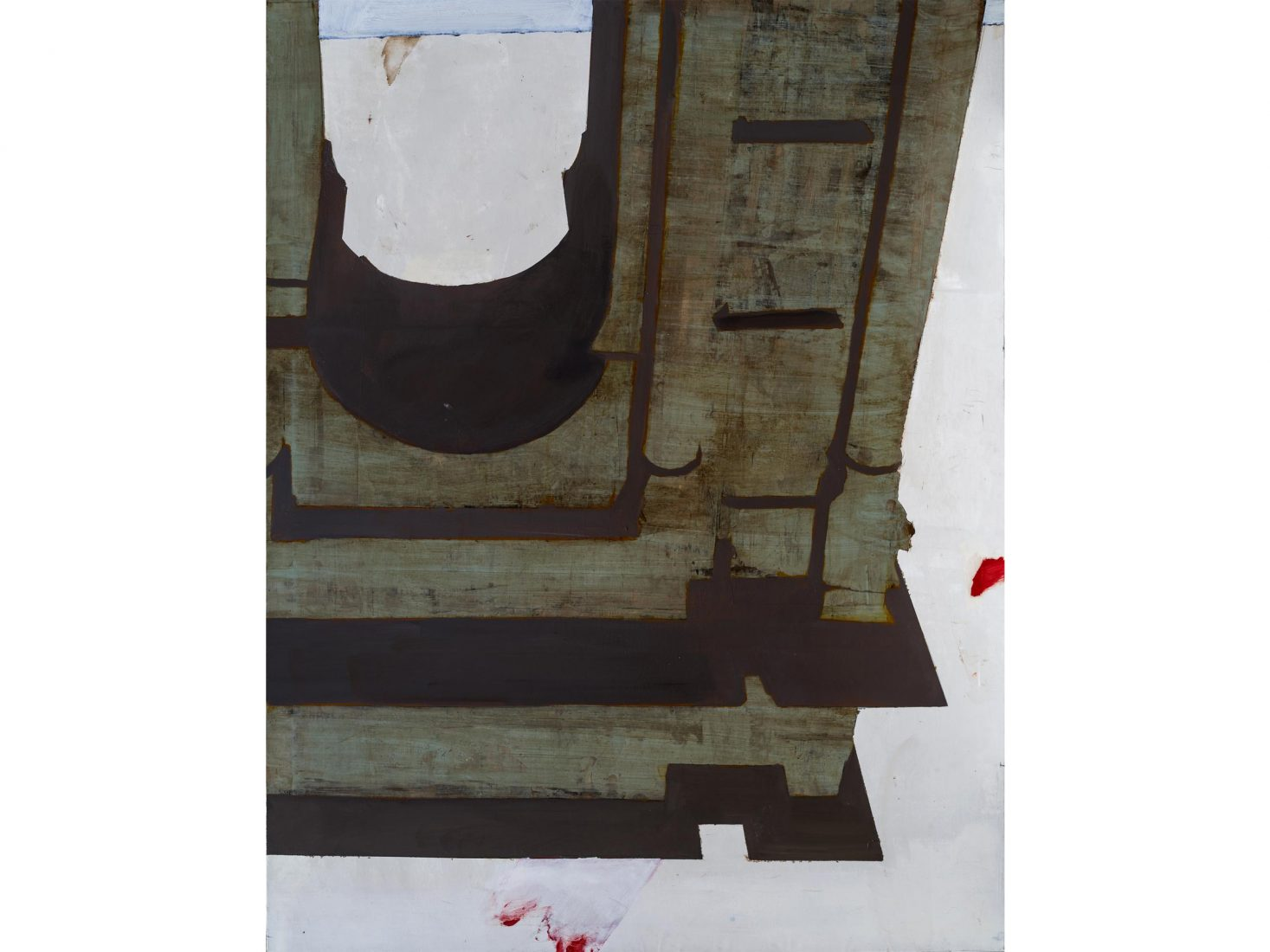 Иво Бистрички. Империя, 2021, акрил, платно, 150x120x3 см